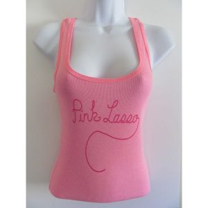 Pink Logo Tank