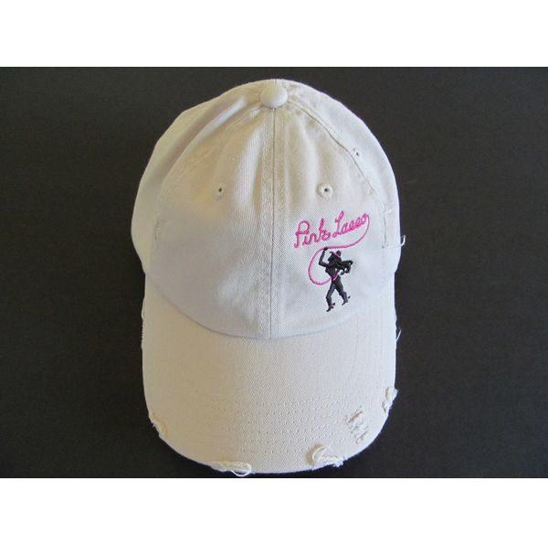 Cream Hat Logo Left