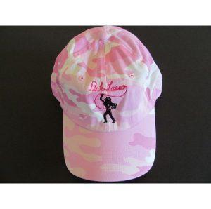 Pink Camo Hat Logo