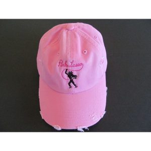 pink hat logo center