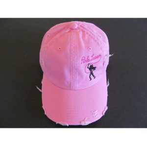 Pink Hat Logo Left
