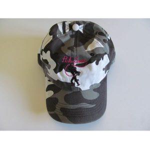gray camo hat