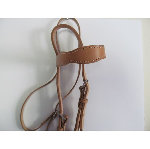 Light Brown Headstall and Reins