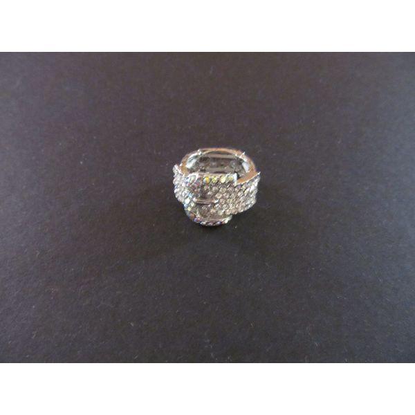 crystal belt ring